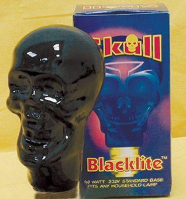 UV-Lampe E-27 75 Watt Giant Skull -#3565 – Bild 1