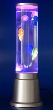 Wassersäulen LED Lampe 1 x Skelett 1 x Seepferd 3 x Kugeln -#3651 – Bild 1