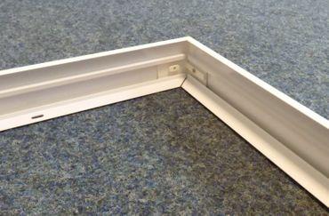 Aufbau Rahmen für LED Universal-Panel 620 x 620 mm -#3777
