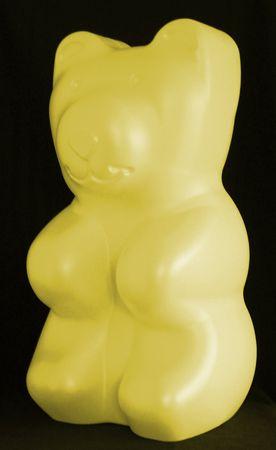 LED Leuchte BIG Bär groß 12 Volt gelb Höhe:71 cm -#4498 – Bild 1