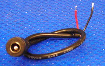 LED Netzteil Kupplung mit 25 cm Kabel zum löten -#4538