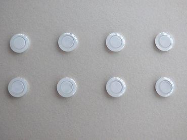 Einbau LED geringe Einbautiefe 25 mm 8-er SET warmweis  Ø 34 mm Bohrung -#4691