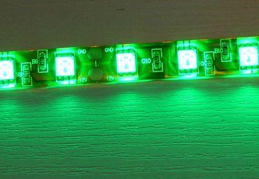 LED Band weisser Grund 5m IP20 300 LED 5050er grün -#4749
