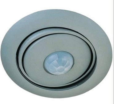 Bewegungsmelder Deckeneinbau für LED  grau Abdeck -#5622