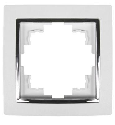 Levina S 1-er Rahmen silberne Zierleiste -#5750 – Bild 3