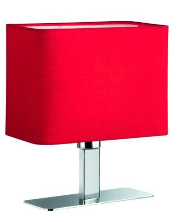 Tischleuchte MING E-14 max. 40 Watt Schalter rot -#5929 – Bild 1