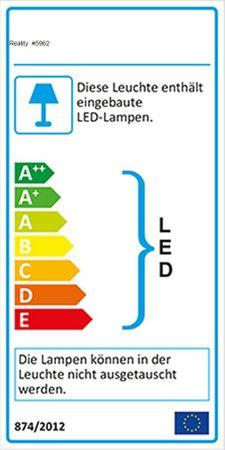 Pendel Leuchte BOBBY 300 1 x E-27 max. 60 Watt weiß -#5962 – Bild 2