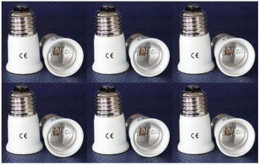 Adapter von E-27 auf Sockel E-27 Kunststoff 6-er Pack -#6146