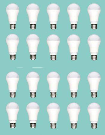 LED Lampe 1050 Lumen 13 Watt E-27 kaltweiss 20-er Pack -#6406 – Bild 1