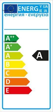 LED Armatur + Röhre 10 Watt kalt weiß 1100 Lumen 270 Grad 63 cm -#6423 – Bild 3