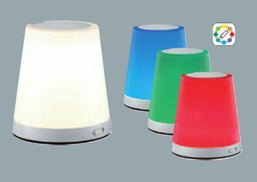 Tischlampe LED 3 Watt 240 Lumen RGB LED + RGB grün -#6539 – Bild 2