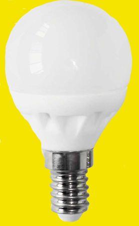 LED Tropfen 4 Watt 300 Lumen E-14 warmweiss -#6565 – Bild 1