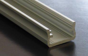 ALU Profil U-Form 202 cm silber eloxiert 16 mm -#6584