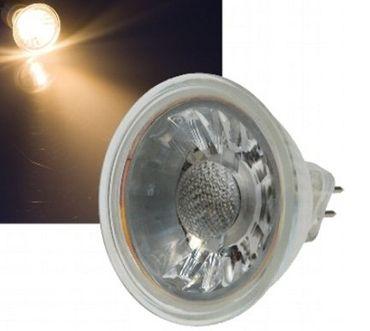 LED Lampe 6 Watt warmweiss 400 Lumen 12 Volt MR16 -#6632 – Bild 1