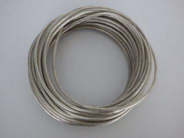 Seilsystem 3 x Stab 250mm 4 Watt kalt weiß 12Volt 300Lm LED 38° schwarz #6758 – Bild 3
