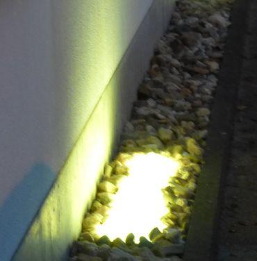 Gabionen Leuchte LED 360 Grad 1,00 m warmweiss -#6904 – Bild 1