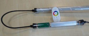 Gabionen Leuchte LED 360 Grad RGB 0,85m 3er SET -#6916 – Bild 3