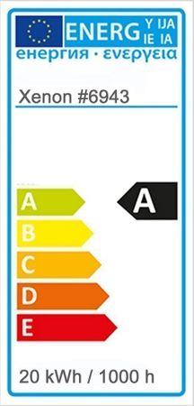 S-LED Leuchtstab 12 Volt gelb 5050-er LEDs mit Netzteil Ø 30 x 1190 mm -#6943 – Bild 2