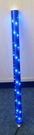 LED Leuchtstab 12 Volt Netzteil Ø 30 x 500 mm blau -#6949 – Bild 1