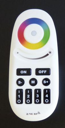 LED 4 Zonen Fernbedienung RGB-W 9 Programme -#6977