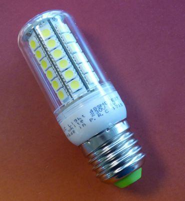 LED Kolben Lampe 6W 480 Lm E27 warmweiss -#7226 – Bild 1