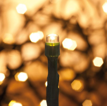 LED Lichterkette 120 warmweiße LEDs Norm IP44 -#7243 – Bild 1