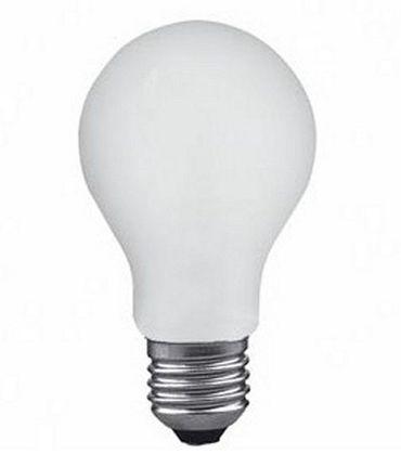 Glühlampe Glühbirne 15 Watt E27 matt 50er Pack -#7275 – Bild 1