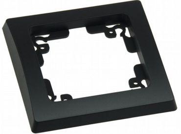 DELPHI 1-fach Rahmen schwarz Elektro Dose Stecker Kupplung -#7451