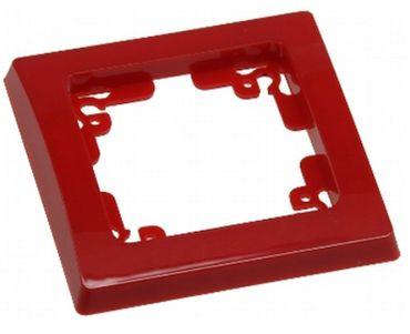 DELPHI 1-fach Rahmen rot Elektro Dose Stecker Kupplung -#7455
