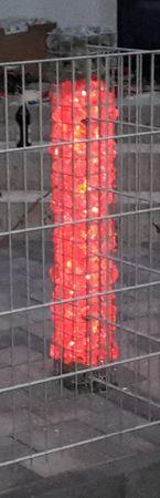 Gabionen Leuchte 360 Grad RGB Vertikal 0,45 m 2-er SET -#7710 – Bild 1
