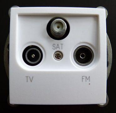 Einsatz Antennendose TV,Radio,SAT Einsatz -#7731