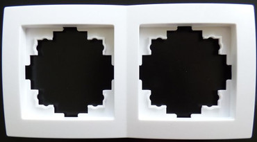 Levina Kunststoff Rahmen 2-fach -#7735