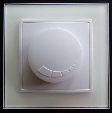 Abelka Nuovo weiß 1 x Dimmer 300 Watt Memory -#7762