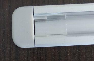 ALU Profil 16 mm x 1 m UP Transparente Abdeckung Endkappen Befestigungsklipse -#8102