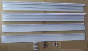 Aufbau Rahmen weiss 600 x 600 mm -#8140 – Bild 1