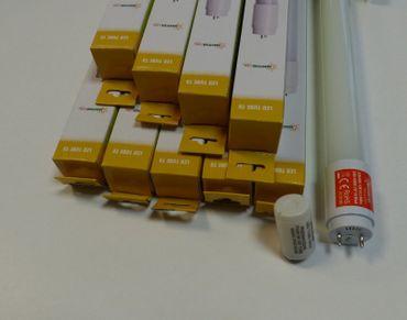 LED Röhre 18 Watt neutralweiss 1700 Lumen 5 Stück 1,20 m -#8325 – Bild 1