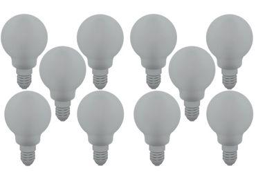 LED Filament Tropfen 4 Watt Matt kaltweiss 10Stück -#8658 – Bild 1