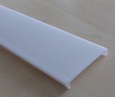 Abdeckung milchig für 40 x 30 mm Schiene 1 m -#8707