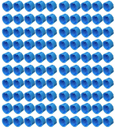 UP Dosen Hohlwand 60 x 40 mm 100-er Pack blau -#8748