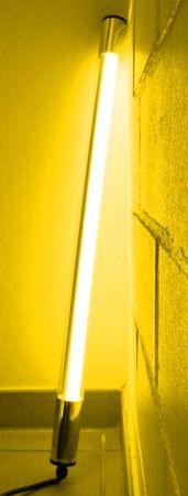 LED Leuchtstab 10 W 63 cm IP-44 Blendschutz Gelb -#9647 – Bild 3