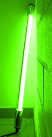 LED Leuchtstab 10 W 63 cm IP-44 Blendschutz Grün -#9648 – Bild 3