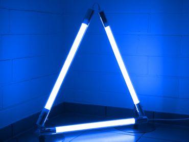 LED Stab Leuchte DEL 3 x 18 Watt a 127 cm BLAU -#9289