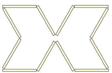 LED ART Light X-12x65cm LED Stäbe kalt weiß -#9588 – Bild 1