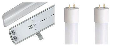 Feuchtraum LED Leuchte mit 2 x Röhre 120 cm warm weiß -#8152 – Bild 1