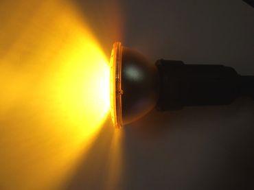LED Garten Spot 15 Watt 2-fach gelb PAR38 -#6876 – Bild 1