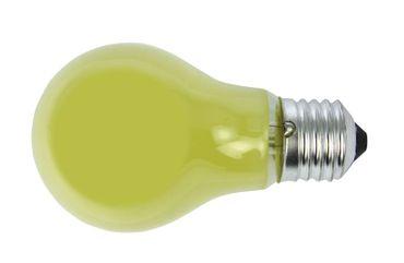 Glühlampe Glühbirne 25 Watt E-27 230 Volt gelb -#719 – Bild 1