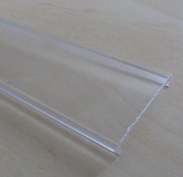 Abdeckung transparent für 40 x 30 mm Schiene 1 m -#7758