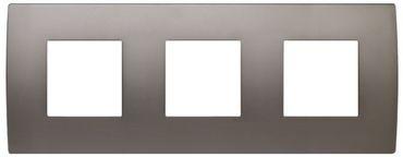 ORGON Alu satiniert Rahmen 3-fach silbern -#8887