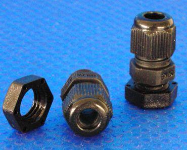 Kabelverschraubung M-12 x 1.5 schwarz -#81
