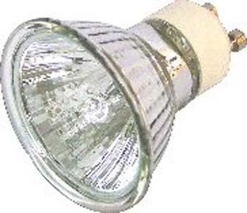 Halogen Lampe 28 Watt statt 35 Watt GU-10 230 Volt klar -#913 – Bild 1